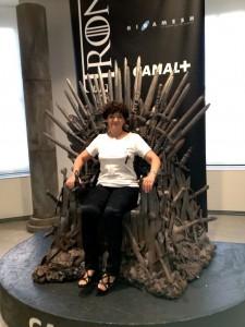 Foto trono de hierro